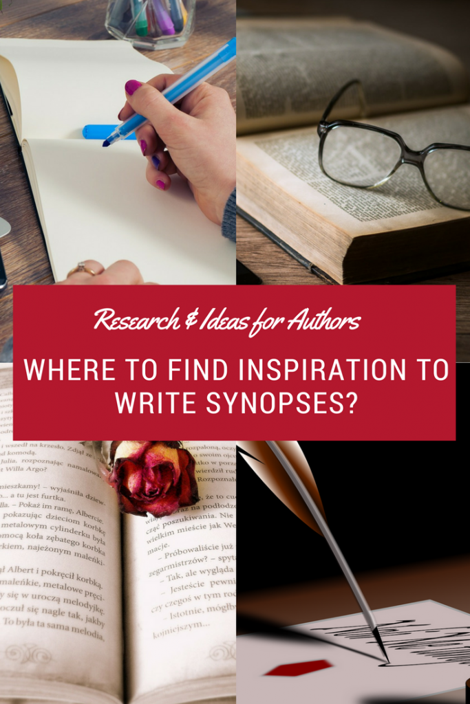 Research & Ideas for Authors: Where to Find Inspiration to Write Synopses?