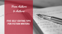 Self-Editing Tips for Fiction Writers