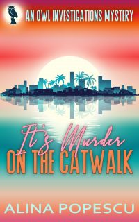 It's Murder on the Catwalk lgbt mystery